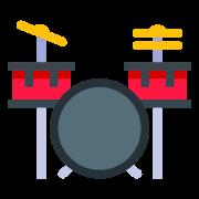 Zestaw perkusyjny icon