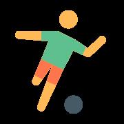 Person Kicking Ball icon