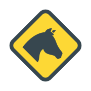 Horse Head in a Rhomb icon