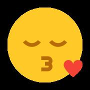 Smiley Kissing icon