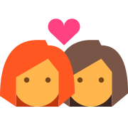 Woman to Woman Relationship icon
