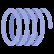 Sprężyna mechaniczna icon