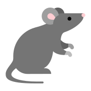 Animal de souris icon