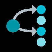 Mehrpunktverbindung icon
