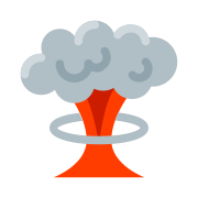 Mushroom-Shaped Cloud icon