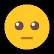Neutral Face Emoji icon