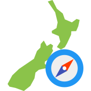 New Zealand Navigation icon
