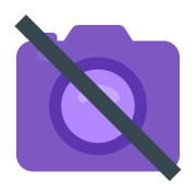 No Pictures Allowed icon