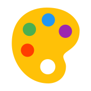 Paleta kolorów icon