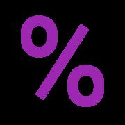 Percentagem icon