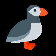 Ptak Puffin icon