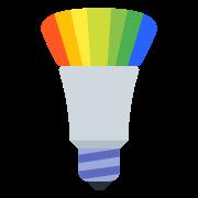 Multicolor Lamp icon