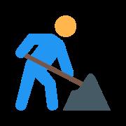 Robotnik drogowy icon