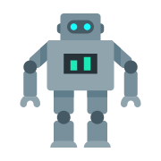 Robot Outline icon