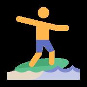 Skimboarding icon