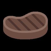 Stek średnio wysmażony icon