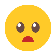 Surprised Emoticon icon