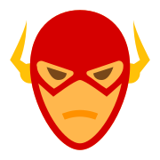 La tête de Flash icon