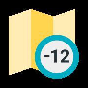 Zeitzone +12 icon