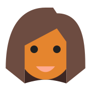 User Female Skin Type 5 icon