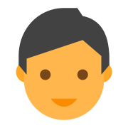 Outline of a Face icon