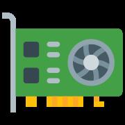 Tarjeta de video icon