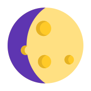 Waxing Gibbous icon