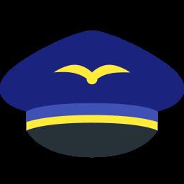 Czapka pilota icon