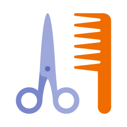Salon fryzjerski icon