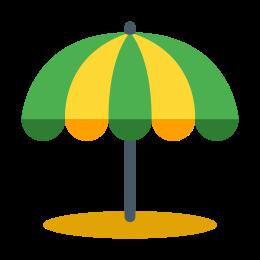 Parasol plażowy icon