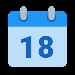 Kalendarz 18 icon