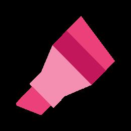 Marker ze ściętą końcówką icon