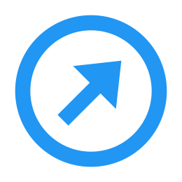 Circled Up Right 2 icon