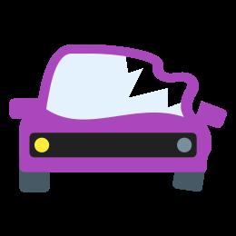 Carro acidentado icon