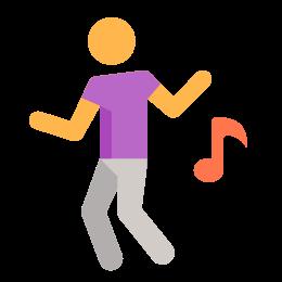 Dancing icon