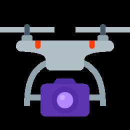 Drone z aparatem icon