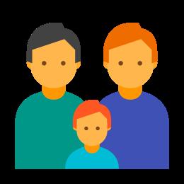 Family Two Men icon
