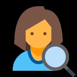 Find User Female icon