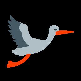 Latający bocian icon