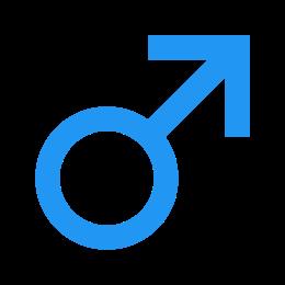 Płeć męska icon