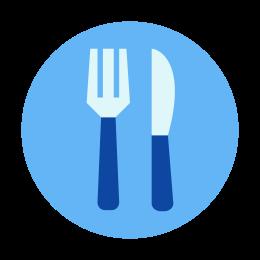Empty plate icon