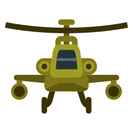 Apache Helicopter icon