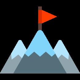 Unternehmensmission icon