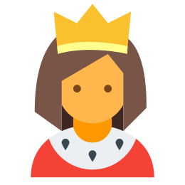 Moderator Kobieta icon