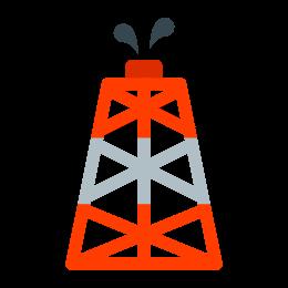 Platforma wiertnicza icon