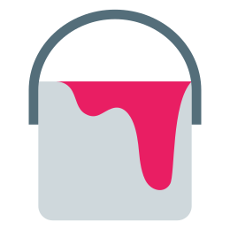 Wiadro farby icon