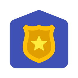 Posterunek policji icon