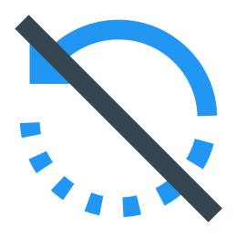 No Rotate Right icon
