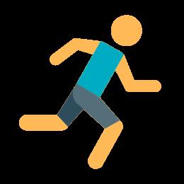 Stick Figure Running icon