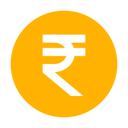 Rupee Indian icon